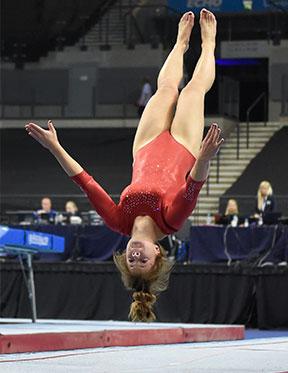 Rachel  Davies - Gymnastics