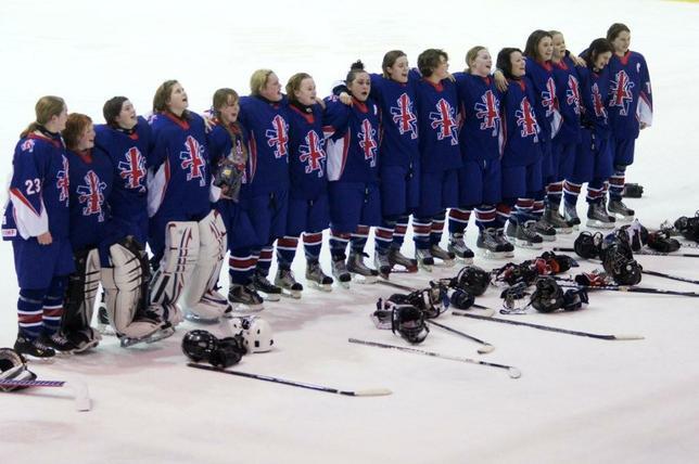 """Képtalálat a következőre: """"england national women's ice hockey team"""""""